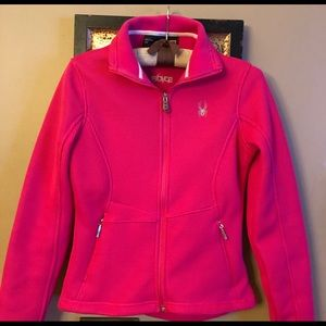 Spyder bright pink jacket